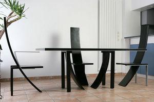 Partage Paris - table de salon ellipsys - Table De Repas Rectangulaire