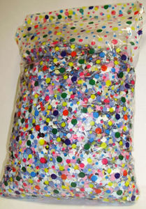 Palais de la F�te -  - Confettis