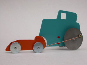 Jesco von Puttkamer - catch me - Maquette De Voiture
