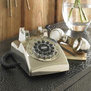 Graham & Green - 50's classic chrome telephone - T�l�phone D�coratif