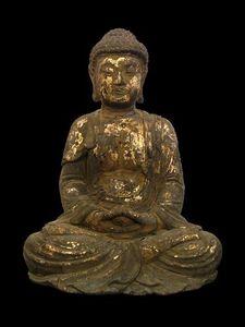 Aur�lie DoYe - chinese buddha, 18-19th century - Bouddha