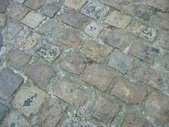 antiquites materiaux anciens deco de jardins - pavés de rue en granit - Pavé D'extérieur