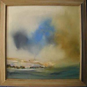 www.maconochie-art.com - estuary - Huile Sur Toile Et Huile Sur Panneau