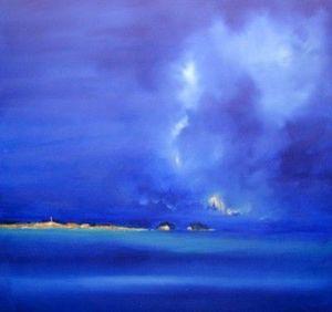 www.maconochie-art.com - island - Huile Sur Toile Et Huile Sur Panneau