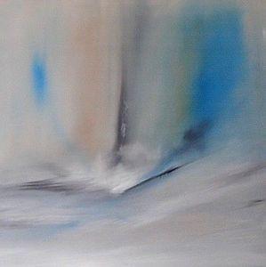 www.maconochie-art.com - ocean plume - Huile Sur Toile Et Huile Sur Panneau