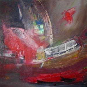 www.maconochie-art.com - subway - Huile Sur Toile Et Huile Sur Panneau