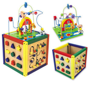 Andreu-Toys - dado 5 actividades - Jeu D'éveil