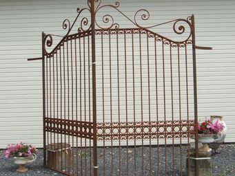 Bca Materiaux Anciens -  - Portail De Jardin