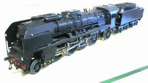 frantic - locomotive vapeur type 141p noire - Train Miniature