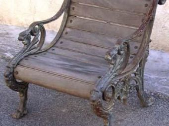 La Farfouille -  - Banc De Jardin