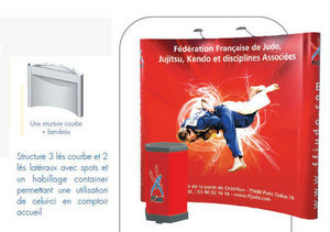 adimage-adexpo -  - Stand D'exposition Pliable