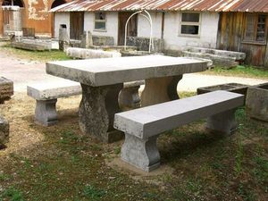 France Distribution -  - Table De Jardin