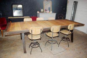 LE MARCHAND D'OUBLIS -  - Table De Repas Rectangulaire