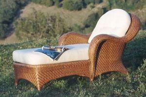 MAURIZI -  - Chaise Longue De Jardin