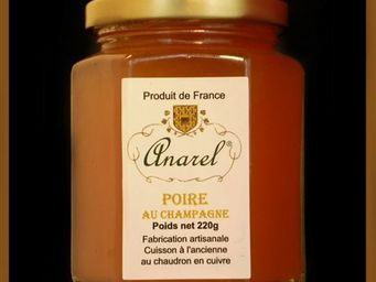 ANAREL - poire - Confiture