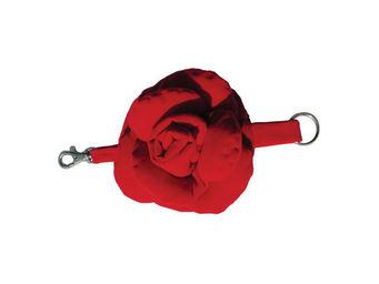 Taffet� - rosa rossa - Bracelet