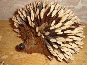 l'art du bois -  - Hérisson