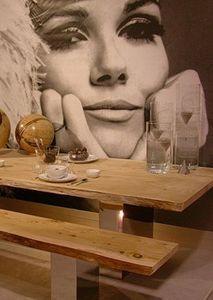Monpas -  - Table De Repas Rectangulaire