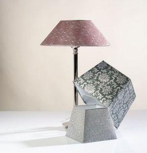 L'Atelier de l'Abat-Jour - les argent�s - Lampe � Poser