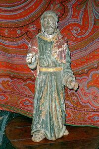 Antiquit� Le Berre - sculpture polychrome - Sculpture