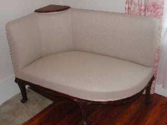 ANTIQUITÉS 95 - banquette d'angle, art nouveau - Canapé D'angle