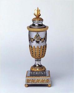 ANTOINE CHENEVIERE FINE ARTS - russian cassolette vase - Vase Décoratif