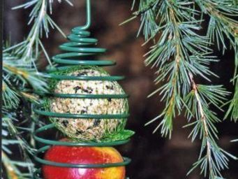 Wildlife world - spiral bird feeder (green) - Mangeoire À Oiseaux