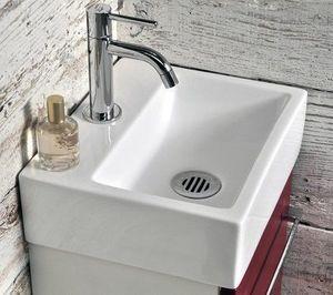 Atlantic Bain - lavabo carr� - Lave Mains