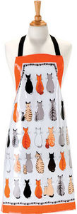 Ulster Weavers - cats in waiting pvc apron - Tablier De Cuisine
