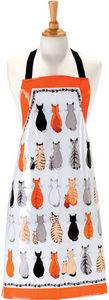 Ulster Weavers - cats in waiting pvc apron - Tablier De Cuisine