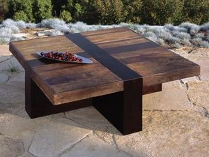 Environmental Street Furniture - santos - Table Basse Carrée