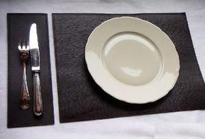 PHILIPPE GRANET - set de table noir - Set De Table