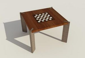 DN DESIGNS COLLECTION -  - Table Basse Carrée