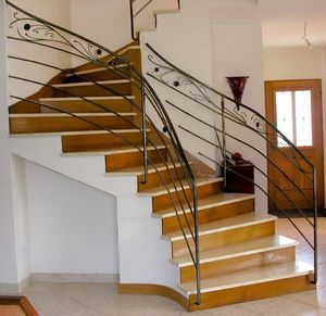 ERIC MIGNOGNA-TOURNIER -  - Rampe D'escalier