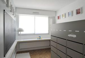 CIEL ARCHITECTES - vroum room - Chambre Enfant 4 10 Ans