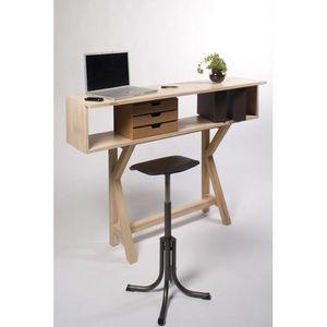 Meuble Pour Pc Portable bureau pour ordinateur portable et imprimante | champagneconlinoise
