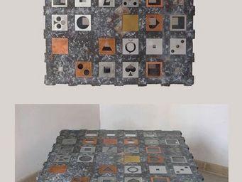 Decoupe Creative - tb36 - Table Basse À Roulettes