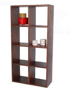 BELDEKO - bibliothèque 8 cases - Bibliothèque