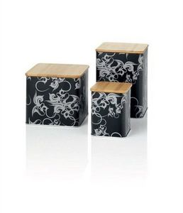 EGO TOGETHER - tin with bamboo lid... - Bocal