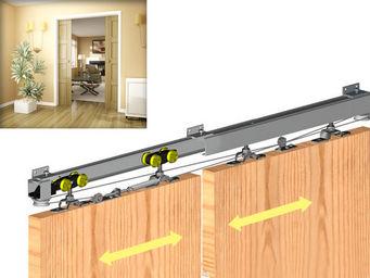 Wimove - kit de synchronisation pour herkules pour 2 portes - Motorisation Pour Porte D'intérieur