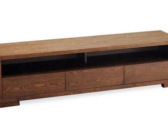 Miliboo - jairo meuble tv 3 tiroirs - Meuble Tv Hi Fi