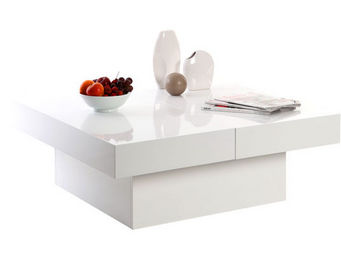 Miliboo - laureen table basse - Table Basse Carrée