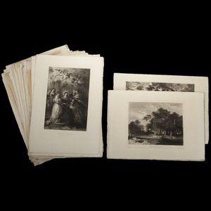 Expertissim - cinquante-deux gravures éditées par l'art - Gravure