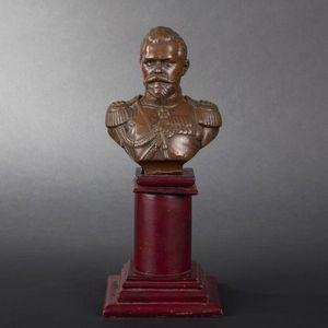 Expertissim - buste du tsar nicolas ii - Buste