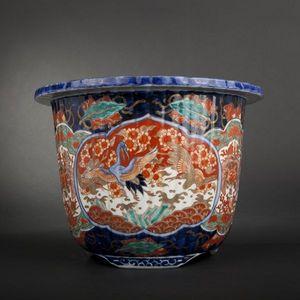 Expertissim - japon. vase imari - Cache Pot