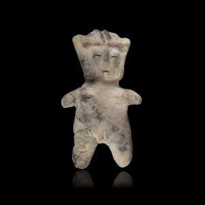 Expertissim - statuette f�minine en terre cuite. valdivia - Objet D'art Pr�colombien