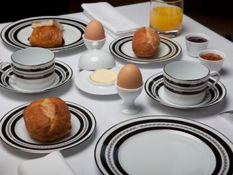 Haviland - l'aiglon or aile noire - Service Petit D�jeuner