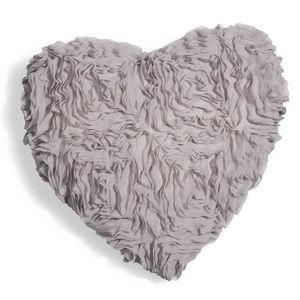 Maisons du monde - coussin fiore gris - Coussin Forme Originale