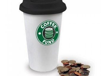 Manta Design - tirelire design mug coffee - Tirelire