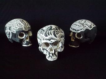 TRIBUS & ROYAUMES -  - Crâne Décoratif